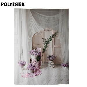 Image 4 - Allenjoyแจกันถ่ายภาพฉากหลังดอกไม้ตกแต่งVintageไม้ชั้นหน้าต่างพื้นหลังPhotocall Photobooth Photo Shoot
