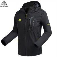 PEILOW Military Tactical Men Jacket Lurker Shark Skin Soft Shell Waterproof Windproof Men Windbreaker Jacket Coat