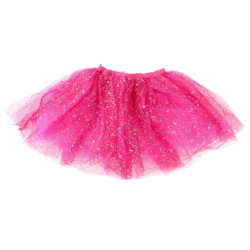 Toddler Kids Girl Princess Short Tutu Skirt Bling Tulle Party Ballet Dance Skirt mesh ballet light up cosplay party skirt