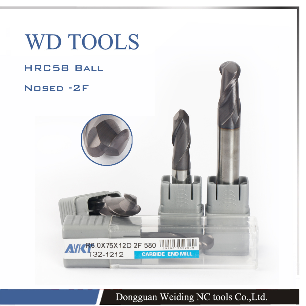 ФОТО stainess steel mills 4.0RX16CX150X8DX2F ball nose high efficiency 150mm solid carbide end mill flute ball ends
