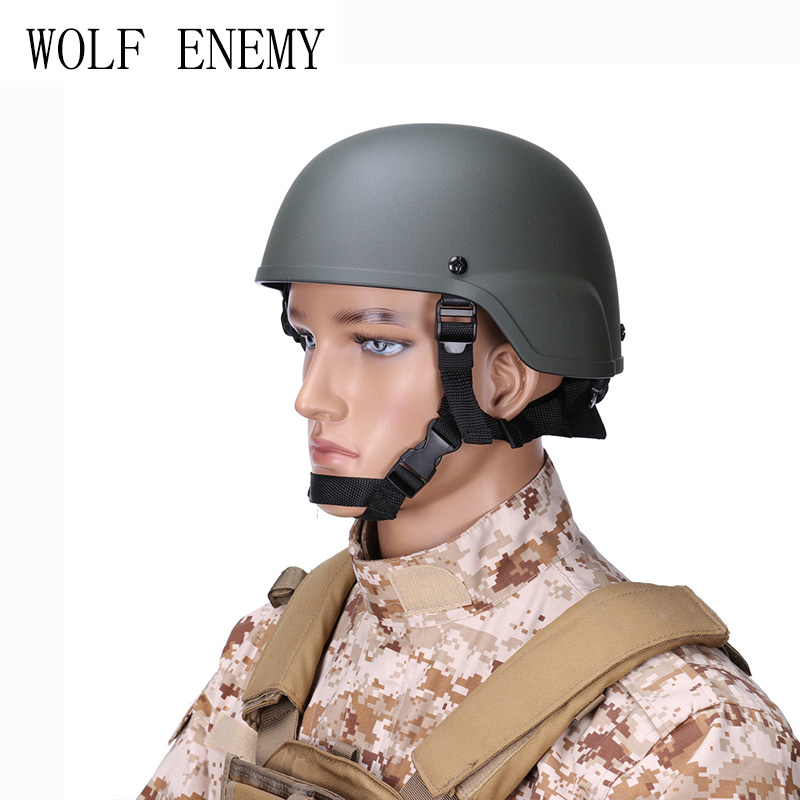 Men Tactical Army Military Airsoft Combat Helmet Wargame Plastic ABS ACH MICH 2000 Helmet mich 2000 military tactical airsoft paintball helmet wargame dear movie prop cosplay