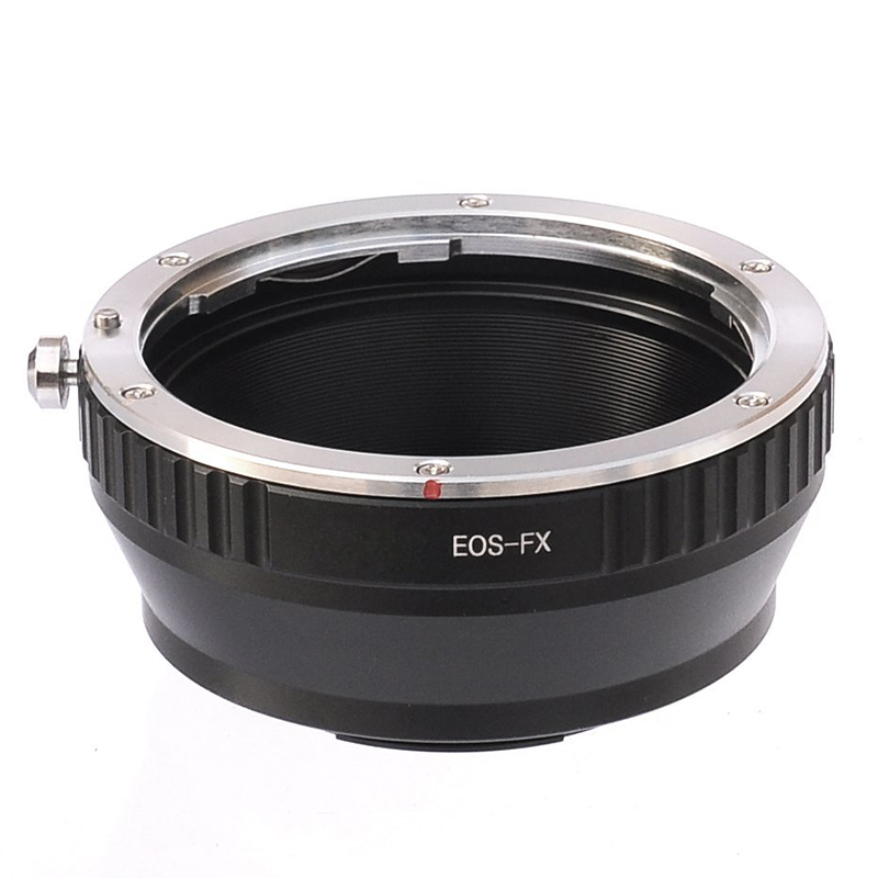 Per Canon EOS EF/EFS Lens per Fujifilm X-Mount Fotocamera X-Pro1 X-Pro2 E1-E2 X X-M1 X-A1 X-A2 X-E2S X-A3 X-A10 X-M1 X-T1 X-T2 X-