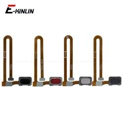 Przycisk Home rozpoznawanie linii papilarnych czujnik dotykowy Menu przycisk powrotu Flex Cable Ribbon dla Oneplus 6 wymiana części