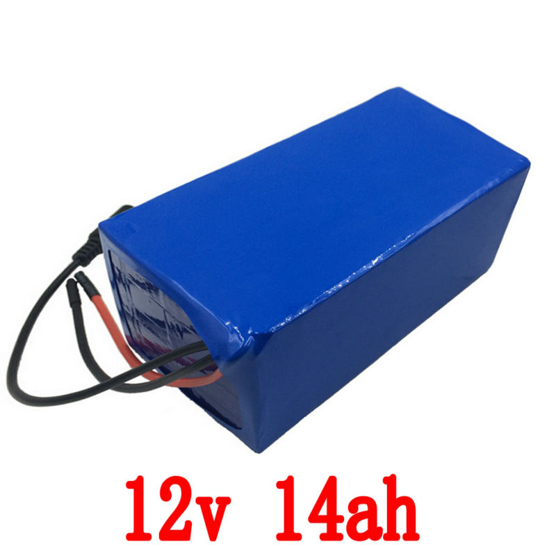 Free shipping e- bike battery 12v 14ah 250w with 12v 5A charger,20A BMS12v battery pack Lithium battery 12v for LED light free customs taxes super power 1000w 48v li ion battery pack with 30a bms 48v 15ah lithium battery pack for panasonic cell