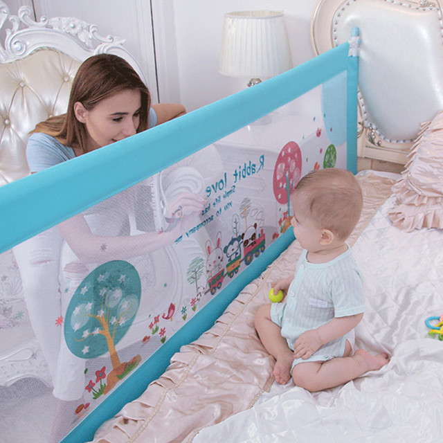 Baby Bed Fence Home Kids playpen Safety Gate Products child Care Barrier for beds Crib Rails Security Fencing Children Guardrail 1