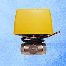 AE-Q20 Моторизованные Два Ходовой Шаровой кран BSP 3/4 «для наших солнечный водонагреватель контроллер