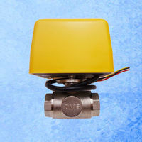 AE Q20 Motorized Two Way Ball Valve BSP 3/4 for our solar water heater controller