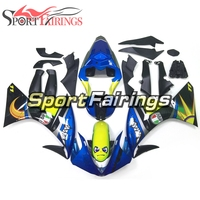 Shark Complete Fairings For Yamaha YZF 1000 R1 09 10 11 Year 2009 2011 Injection ABS Plastic Motorcycle ABS Blue Yellow New