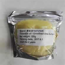 essential oil YAFUYAN 100g Raw Natural Organic Unrefined Shea Butter Oil Fresh Grade  Nourishing Moisturizing Wrinkle Skin Care