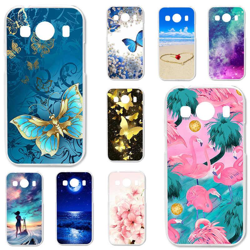 Coque de téléphone peinte pour Samsung Galaxy Ace 4 LTE G357FZ, Style LTE G357, SM-G357FZ pouces, couverture en TPU, 4.3