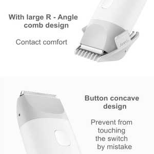 Image 3 - Baby Hair Clipper Safe IPX7 Waterproof Electric Hair Trimmer Silent Motor USB Rechargeable for Children Men Barber