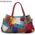 FLYING BIRDS! genuine leather handbag women handbag women leather handbags messenger bags brand women's pouch bolsas LS4465fb