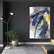 Стены искусства абстрактный рисунок на холсте Плакаты принты Nordic Стиль декоративные настенные картины для Гостиная Спальня украшения дома