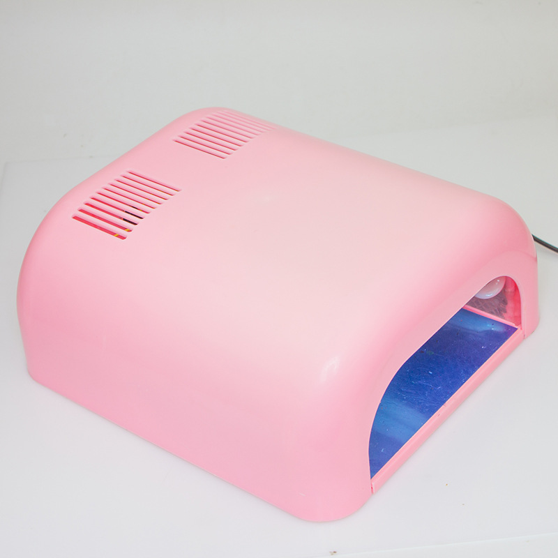 36w prego secador lâmpada uv gel unha polir cura luz 3 tubo bule manicure equipamentos ferramentas nageldroger secador de pregos