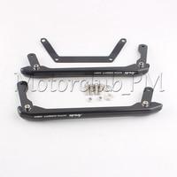 New Aluminum Rear Passenger Seat Hand Grab Bar Rail For Yamaha MT 09 FZ 09 2013