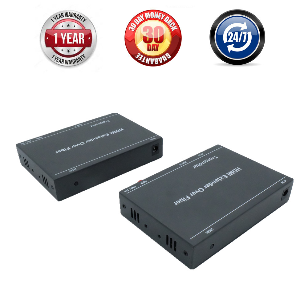 LKV378 H 264 HDMI Fiber Optical Video Audio TX RX Converter Over Fiber Optic Transmission With