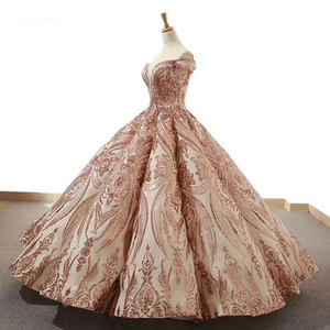 Image 3 - J66661Jancember Ball Gowns Women Quinceanera Dresses Sweetheart  Off The Shoulder Pattern Lace Up vestidos quinceañ рокли за бал