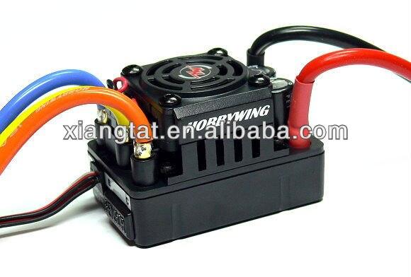HOBBYWING XERUN SCT PRO Noir 120A RC Brushless Motor Speed Controller ESC