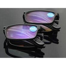 Folding Blue Light Blocking Reading Glasses Anti Rays Computer Men Women Black TR90 Folder Gaming Eyeglasses L3