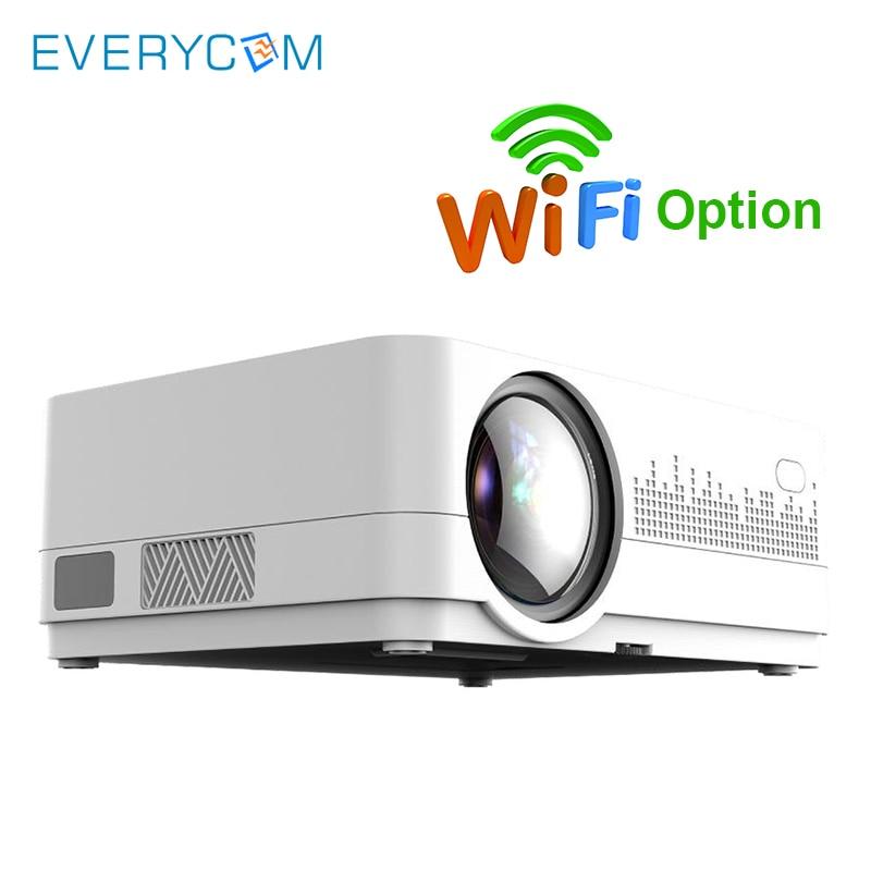 Heim-audio & Video Projektoren Begeistert Neueste Hq3 Wifi Projektor Video Projecteur Everycom Hq2 3000 Lumi Hd 1280*720 P Led Heimkino Film Beamer Proyector Portatil