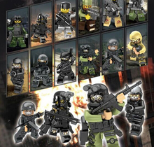 Alpha surprise military man New Minifigures Minifigs Toy Figures Figures Building blocks assembled Special forces 12pcs/lot