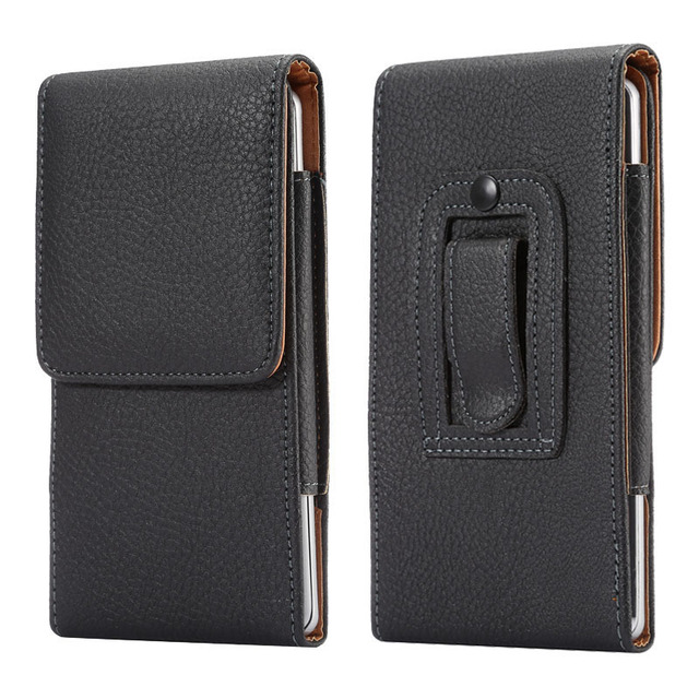 Universal Belt clip Holster for 3.5''~6.3'' Mobile Phone Bag Case Men Waist Bag for iPhone Samsung Huawei Hidden Magnetic Buckle 1