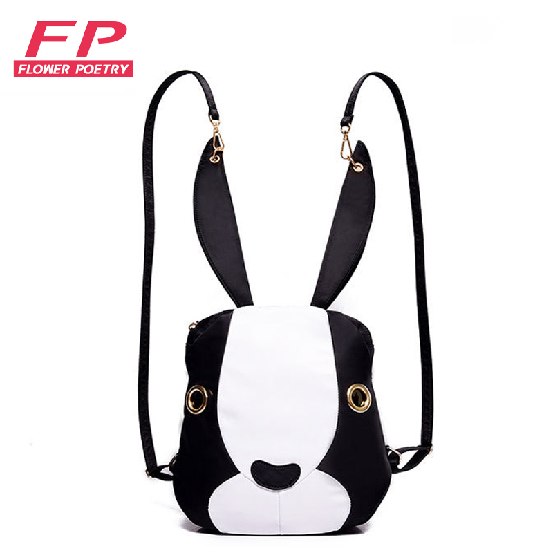 Nylon Women Mini Backpack Rabbit Bagpack Rucksack Women Back Pack Bags Backpacks For Teenage Girls Mochila