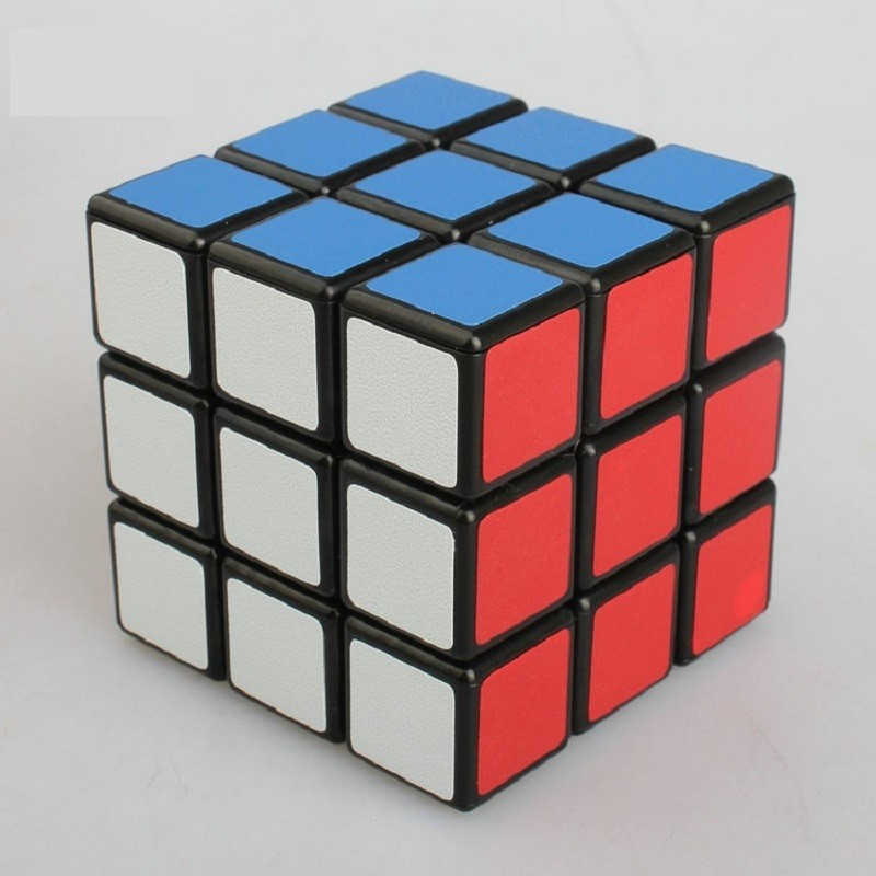Classic Toys Cube3x3x3 PVC Sticker Block Puzzle Speed Cube Colorful Learning&Educational Puzzle Cubo Magico Toys
