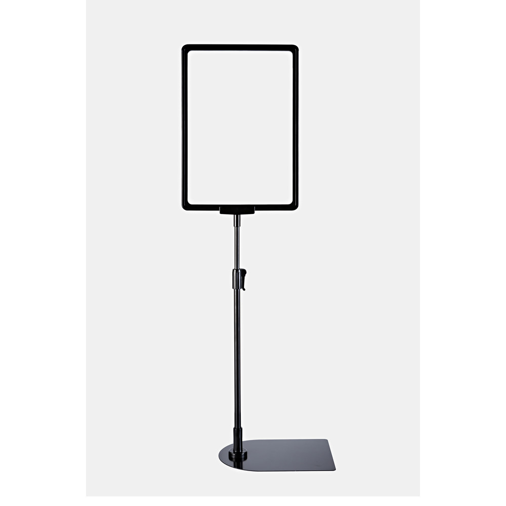 Plastic POP Sign Paper Poster Price Frame A3A4A5 Signage Holders Promotion Display Stand In Black For Supermarket Retail 50 Sets