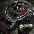 2017 NAVIFORCE Brand Men's Led Digital Quartz Watch Men Army Military Sports Watches Man Leather relogio masculino montre homme