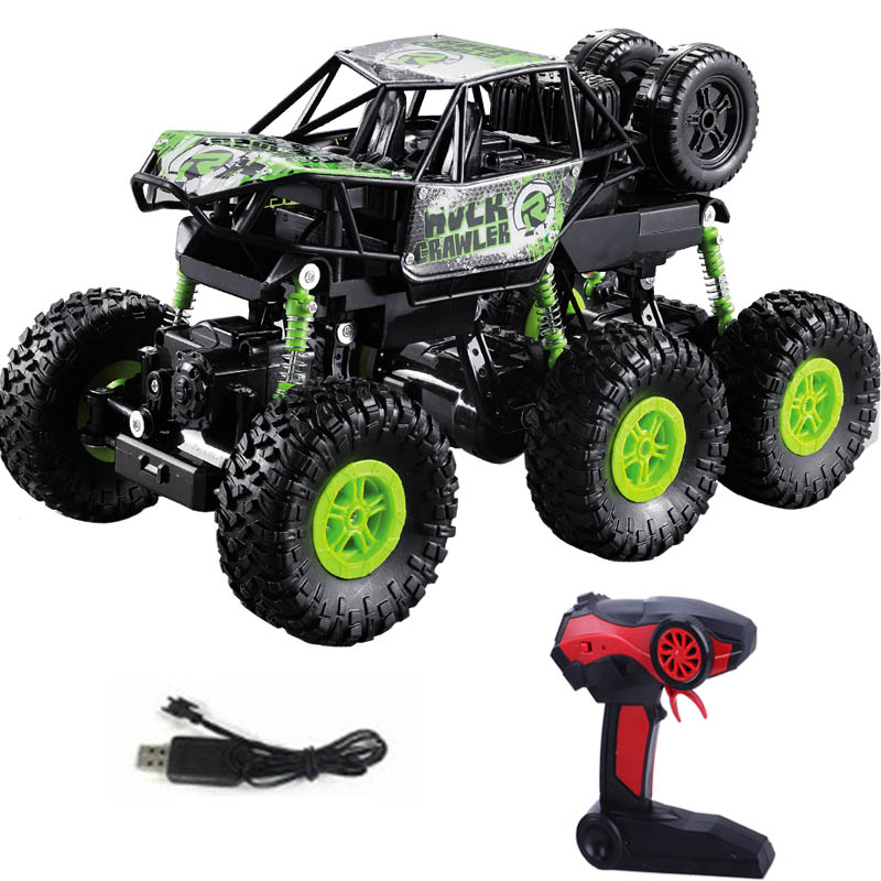 NEW 6WD 1/16 RC Cars Updated Version 2.4G Radio Control RC Cars Drive Remote Toys High Speed Off-Road Electric Toys For Children