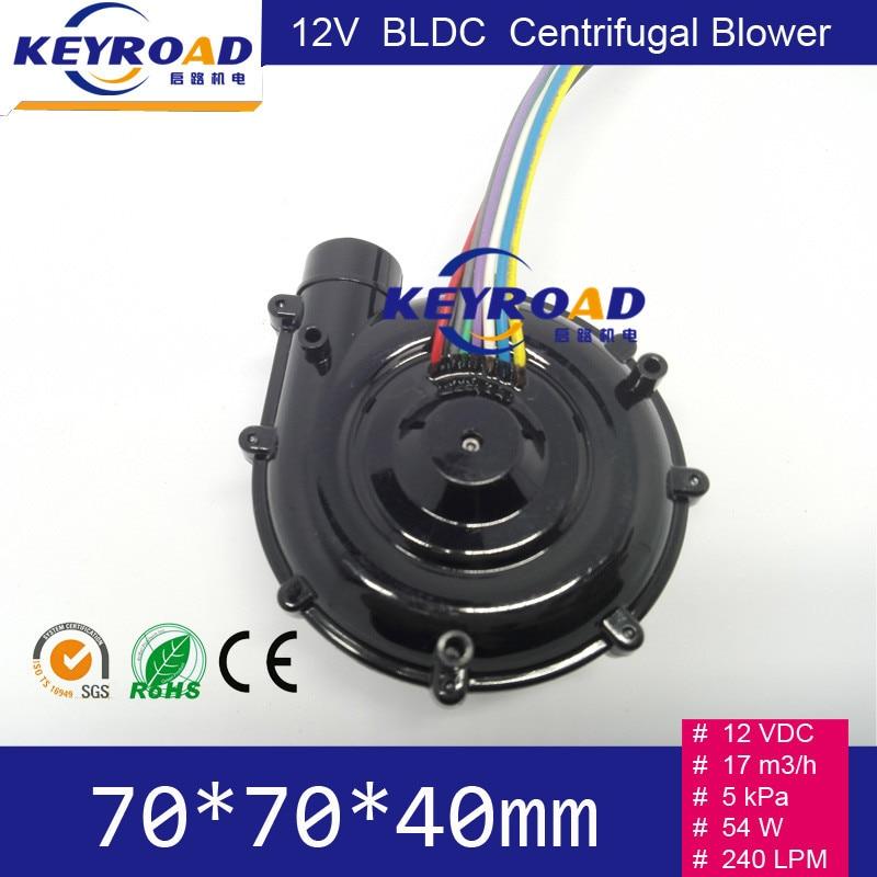 12V 54W 17m3 / h Micro ventilatore DC senza spazzola ad alta - Utensili elettrici - Fotografia 3