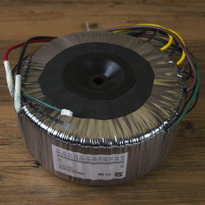 1200VA Toroidal transformer Output voltage: Dual 42V-0v-42V, Dual 0v-12v (1A),1200VA Toroidal transformer Output voltage: Dual 42V-0v-42V, Dual 0v-12v (1A),
