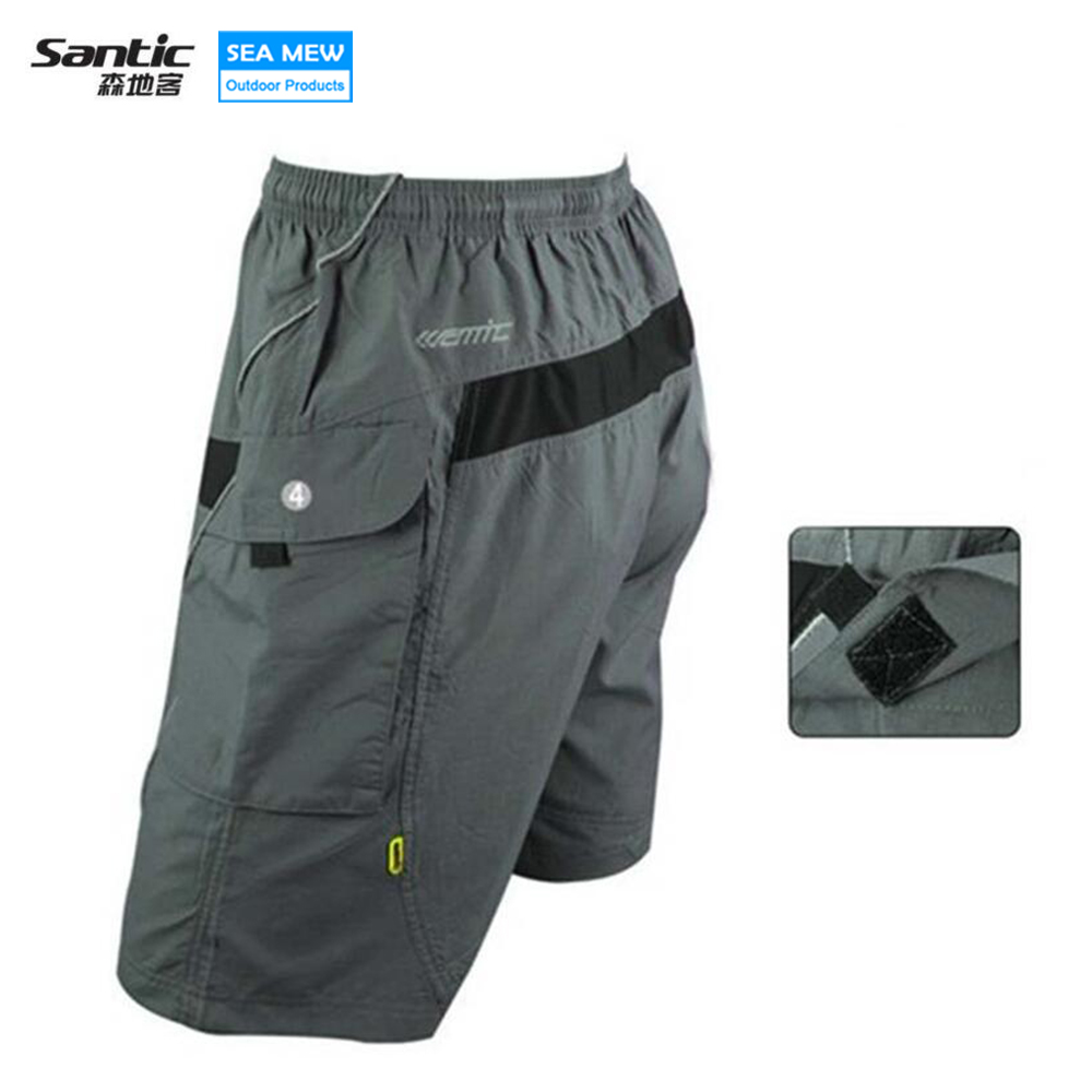 SANTIC Road Loose MTB Shorts Men s Cycling Mountain Bike Bicycle Leisure  Baggy ... 454e0d513