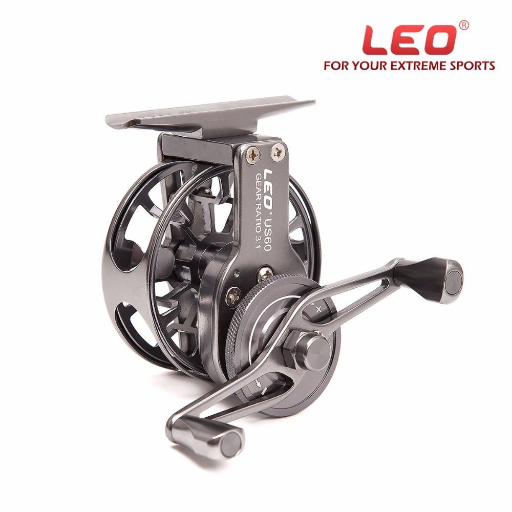 ФОТО New Fly Fishing Reels Classic Aluminium 2+1 BB Retro Fishing Wheel Metal Spool Centrifugal Droplets Round Bearings Fishing Wheel