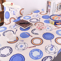 1 Piece Korean Cotton Thickening Owl Tablecloth Children S Cartoon Table Cloth Home Thick Canvas Table