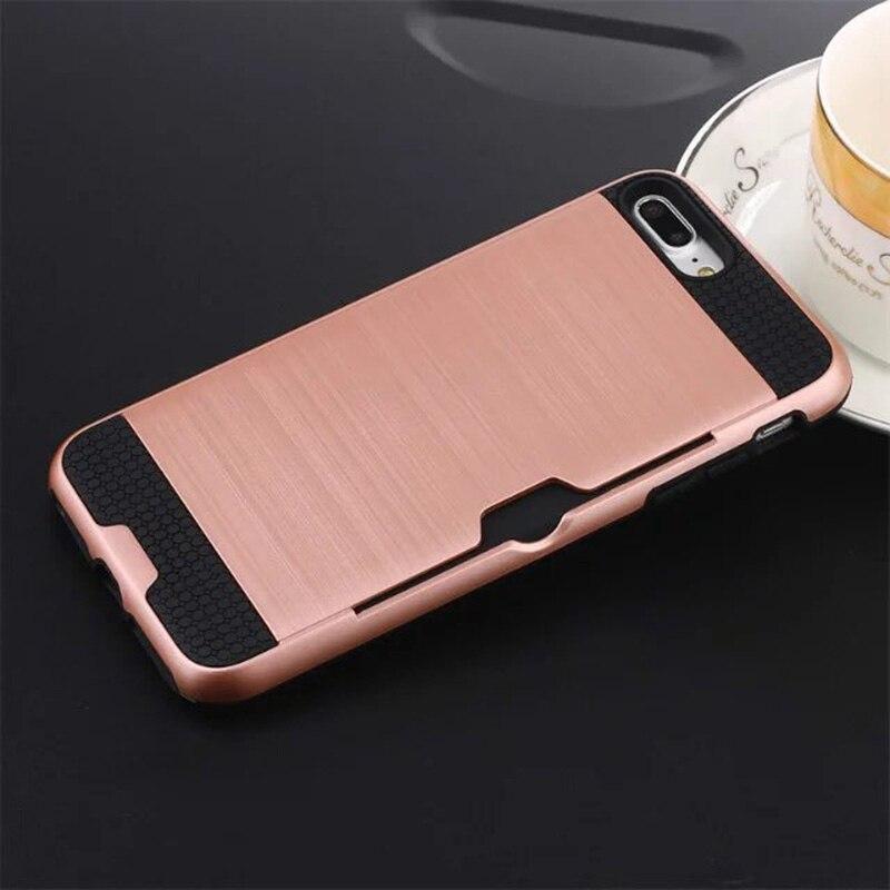Funda de defensa combinada híbrida Karribeca para iphone 7 cubierta - Accesorios y repuestos para celulares - foto 6