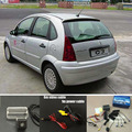 Car Parking Sensors + Rear View Camera = 2 in 1 / BIBI Alarm Parking System For Citroen C3 / C5 / Peugeot 206 207 306 307 308