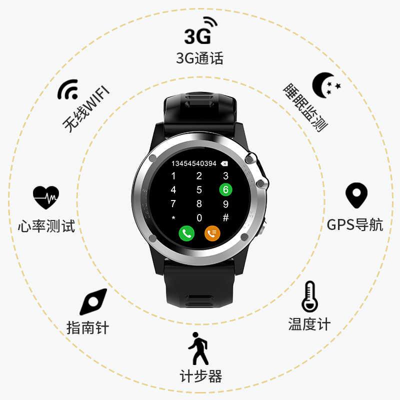 696 H1 MTK6572 IP68 gps Wifi 3g Смарт-часы с камерой водонепроницаемый 400*400 монитор сердечного ритма 4 ГБ 512 Мб для Android IOS