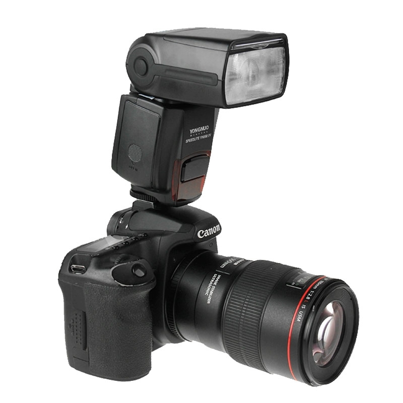 YONGNUO YN-560IV Flash Speedlite Camera Wireless Flash Light for Nikon Canon Pentax Olympus RF602 yongnuo yn560 iii yn 560 iii yn560iii universal wireless flash speedlite for canon nikon pentax panasonic olympus vs jy 680a