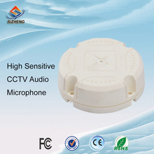SIZHENG COTT-S2 2pcs/lot High sensitive digital audio microphone sound monitor CCTV accessory for camers system