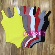 celurvei 7 colors Top Quality Solid Black Yellow Sexy Rayon Bandage Party Bodysuit