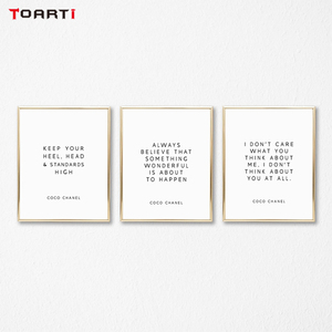 Image 1 - Motivational Modern Quotes Prints Posters Inspirational Life Letters Canvas Painting On The Wall For Living Room Home Decor Art