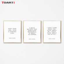 Motywacyjne nowoczesne cytaty drukuje plakaty inspirujące życie litery płótno obraz na ścianę do salonu ozdoby do dekoracji domu