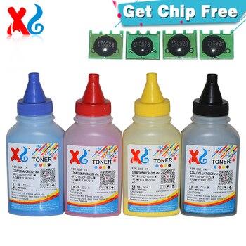 Polvo de tóner y Chip compatibles con HP Color Laserjet CP1025nw CP 1025 Pro CP1025 100, Color MFP M175NW M175 M275 126A