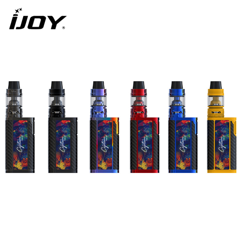 Original IJOY Captain PD270 Kit 234W Captain PD270 Box MOD with 4ml CAPTAIN S SUBOHM TANK with Dual 20700 battery e-cigarettes original ijoy captain pd270 234w box mod