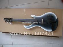 Eine Neue 4/4 Elektrische Violine gitarre form feiner sound hohe qualität #405