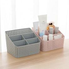 LIRUIKA Makeup Organizer Storage Box Desk Office Organizer Cosmetics Skin Care Plastic Storage Drawer Jewelry Box Drop Shipping