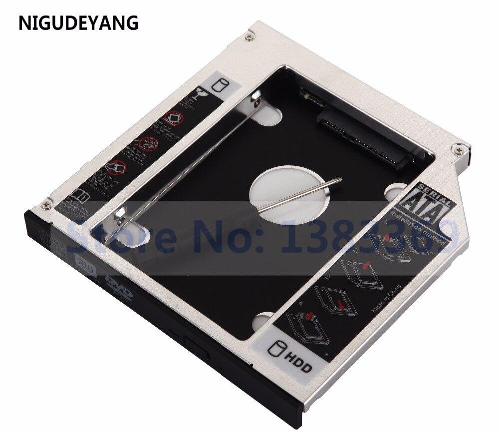 NIGUDEYANG – cadre de disque dur SSD, caddie pour HP Pavilion G6-1327SR G7-1240SF G7-1000 G7-1002sg