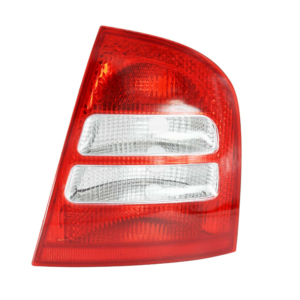 Right Side For Skoda Octavia A4 MK1 Sedan 2000 2001 2002 2003 2004 2005 2006 2007 2008 2009 2010 2011 Rear Tail Light Lamp jeazea glove box light storage compartment lamp 1j0947301 1j0 947 301 for vw jetta golf bora octavia 2000 2001 2002 2003 2004